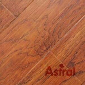 Registered Real Wood Texture (Great U Groove) Laminate Flooring (AY7012) pictures & photos