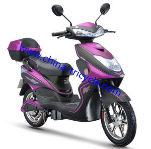 600W Brushless Electric Motorcycle (SP-ES-18) pictures & photos