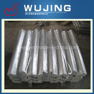 High Manganese Steel Crusher Spare Parts Swing Jaw Plate Made in China