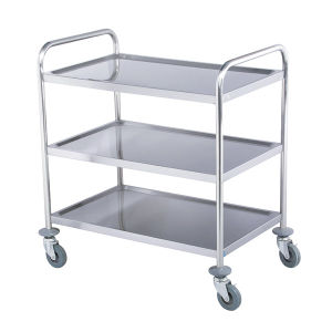 3-Layer Stainless Stee3-Layer Stainless Steel Trolley