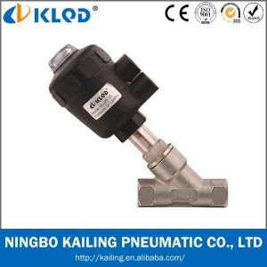 Pneumatic Angle Seat Valve to Kljzf-15 pictures & photos
