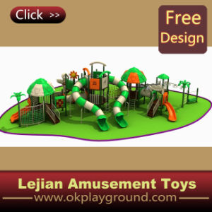 Children Wonderful Castle Plastic Outdoor Playground (12097A) pictures & photos