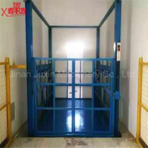 Fixed Cargo Lifting Equipment Guide Rail Lift Platform pictures & photos