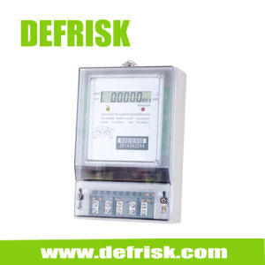 Three Phase Electronic Electrical Meter, Measuring Instrument Electronic Static Meter