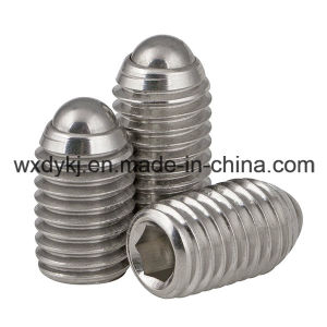 Ss304 A2-70 Hexagon Socket Set Screw with Oval Point pictures & photos