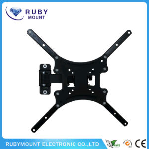 TV Wall Mount Monitor Bracket with Full Motion Articulating Tilt Arm