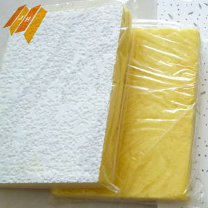 Heat-Insulation Non-Formaldehyde PVC Coated Glass Wool Ceiling Tile pictures & photos