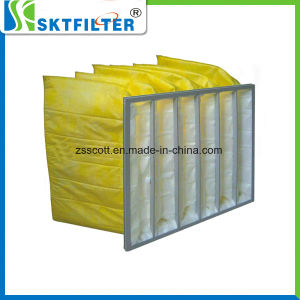 Nonwoven Material Air Filter Pocket Bag Filter