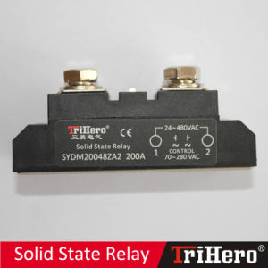 200A AC/AC Industrial Class Solid State Relay, AC SSR, SSR-AA200 pictures & photos