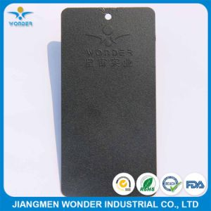 UV Resisting Black Brown Sand Texture Rough Finish Outdoor Powder Coating pictures & photos