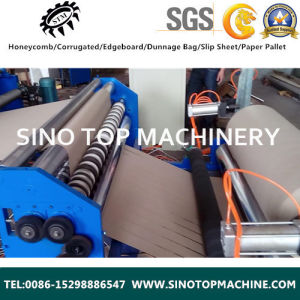 High Speed Paper Slitter Rewinder Machine for Edge Board Protector pictures & photos