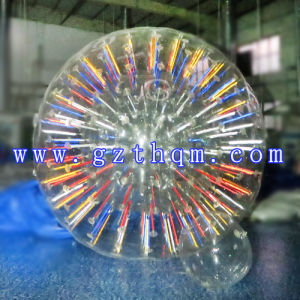 Good Quality Strong Material PVC/TPU Inflatable Zorb Ball/Grassland Sports Inflatable Zorb Ball Clear pictures & photos