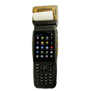 Android Handheld PDA Laser Barcodes Scanner with Printer