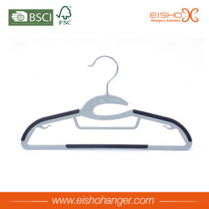 Premium Quality Grey Color Velvet Clothes Hanger pictures & photos