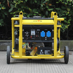 Bison (China) BS3000n 2.5kw 2.5kVA AC Single Phase Fast Delivery Round Frame Portable Gasoline Generator for Sale pictures & photos