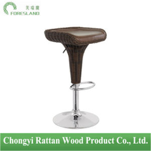 PE Rattan Bar Chair Counter Stool PS-06