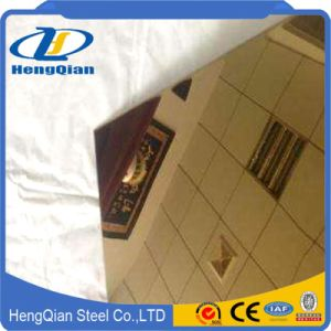 SUS201 304 316 430 Color Stainless Steel Sheet for Decoration Materials pictures & photos