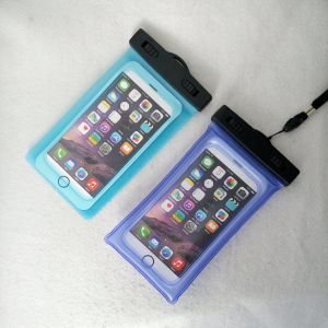 Infalatable Dual Swivel Lock Mobile Phone Waterproof Bag/Waterproof Pounch/Phone Dry Bag pictures & photos