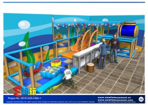 Submarine Combination Indoor Playground for Baby