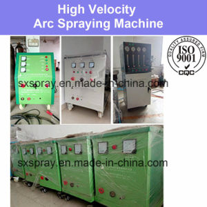 Automatic / Manual Thick Wire Arc Spray Coating Machine PLC Programming Control System with Spraying Gun Sustainable Non-Stop Spraying Processing