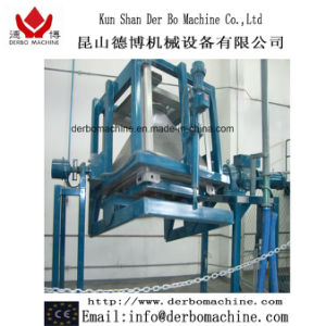 Tilting Container Mixer for Powder Coatings
