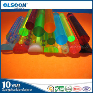 Olsoon Casting Acrylic Rod Plexiglass Light Rods pictures & photos