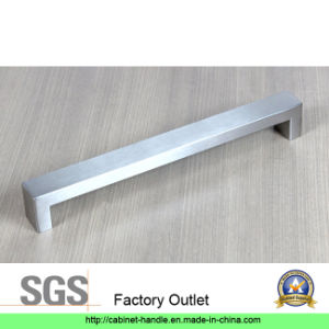 Factory Price Hollow Stainless Steel Furniture Cabinet Hardware Door Bar Pull Handle (U 003)