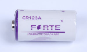 Max Current 1400mAh Lithium Battery 3.0V Cr123A Cr17335 Battery