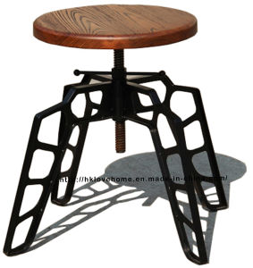 Replica Modern Industrial Restaurant Dining Wooden Common Bar Stools pictures & photos
