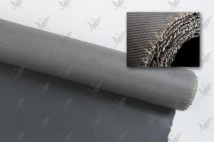 for Smoke Curtain Fireproof Material Silicone Rubber Fabric pictures & photos