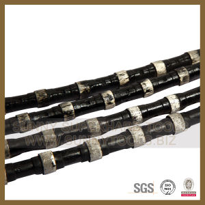 Diamond Wire Saw with Strong Beads for Stone Cutting pictures & photos