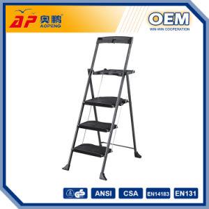 Metal Folding Wide Stair Ladders Ap 1213t