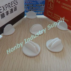 Sign Advertising Small Adhesive Plastic Table Display Clip