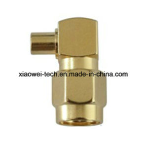 SMA Plug Right Angle Connector for Rg405 Cable