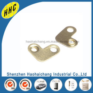 Metal Stamping 0.8mm H65 Brass Terminal Connection with M4 Thread