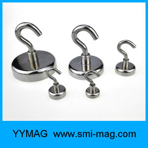 High Quality Rare Earth Neodymium Pot Magnetic Hooks pictures & photos