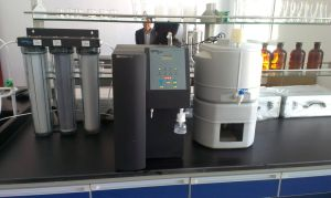 Reverse Omosis Dual UV Lamp Laboratory Water Purification System pictures & photos