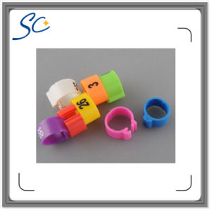 Customized Number Colorful Pigeon/Poultry Band Rings
