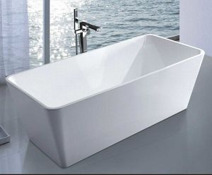 1700mm Rectangle Freestanding Modern Bathtub (AT-6129) pictures & photos