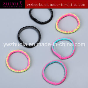 Round Shape Elastic Hair Ties for Girl