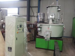 Hot and Cold Mixer for Wood Powder, Plastics, Additives
