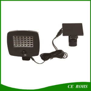 Super Bright 30LED Solar Garden Spotlight for Garage Gate Wall pictures & photos