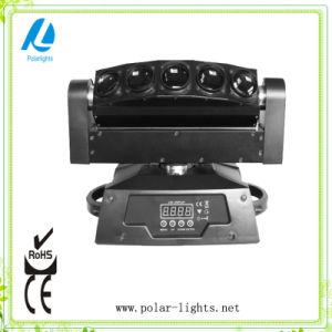 5*12W RGBW 4in1 Full Color LED Moving Head Beam Light (PL-A065A)