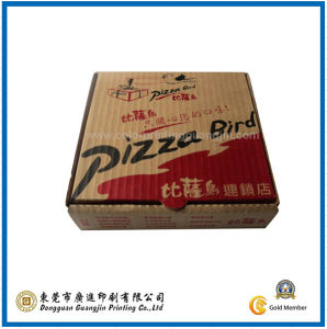 Corrugated Paper Pizza Packaging Box (GJ-Box197) pictures & photos