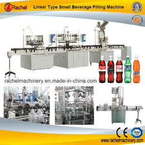 Linear Type Small Carbonated Beverage Filling Line pictures & photos