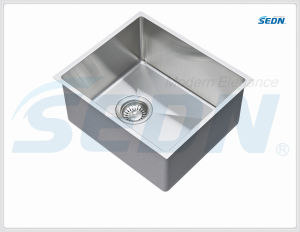 Handmade Stainless Steel Single Bowl Sink (SB1063A) pictures & photos