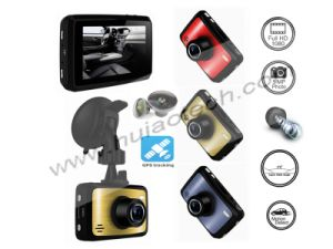 New Private Housing ID 2.7inch FHD 1080P Car Black Box DVR with Novatek 96650 and 5.0 Mega CMOS Car Dash Camera Built-in G-Sensor, Google Map GPS Tracking pictures & photos