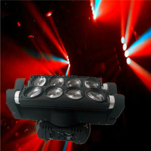 Double Head LED Spider Light 8 Eyes 10W RGBW 4in1 Moving Head pictures & photos
