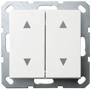 10A 2 Gang Curtain Control Switch (4 + 4) pictures & photos