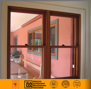 China Aluminium /Glass Double Hung Window pictures & photos